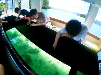 川平湾グラスボート