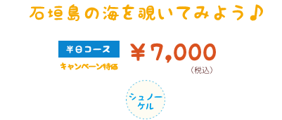石垣島シュノーケルツアー